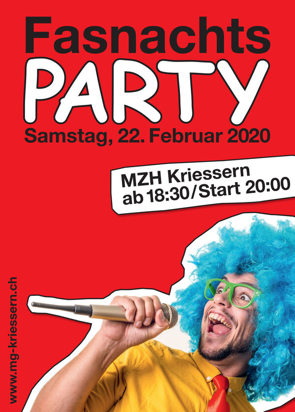 FasnachtsPARTY 2020