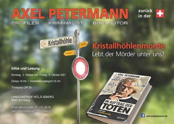 AXEL PETERMANN - zurück in der Schweiz