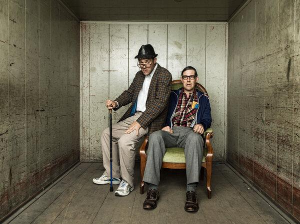 Strohmann und Kauz // Sitzläder