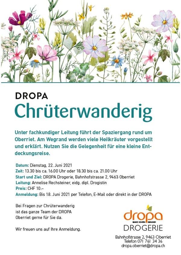 Dropa Chrüterwanderung
