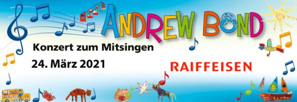 Abgesagt: Kinderkonzert von Andrew Bond