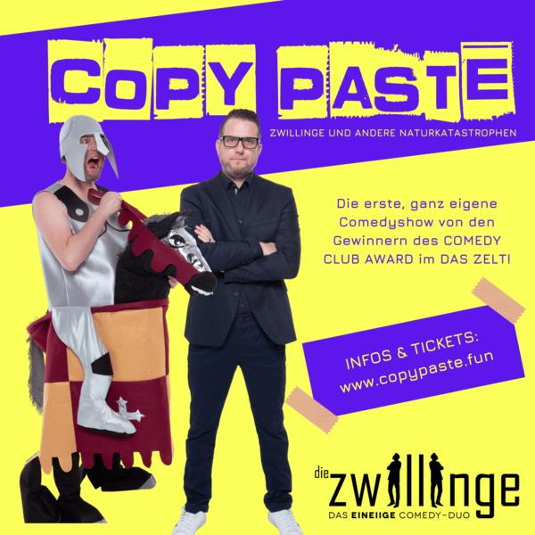 Die Zwillinge - das eineiige Comedyduo - copy paste