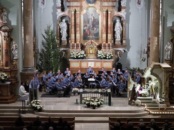 Silvestergottesdienst mit der MG Konkordia Widnau