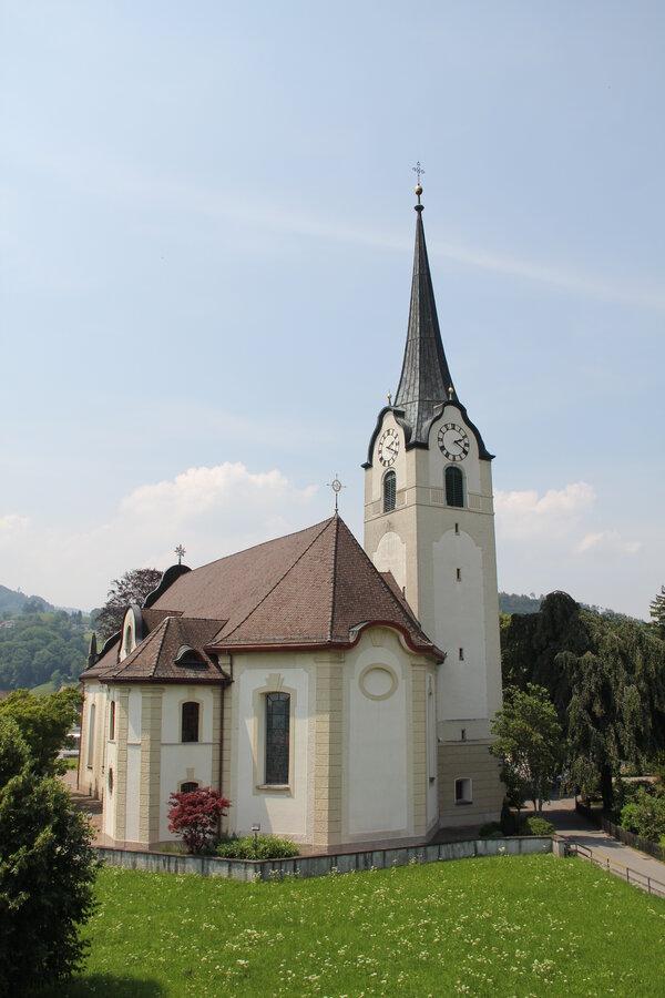 Eucharistiefeier mit Kirchenchor Oberriet